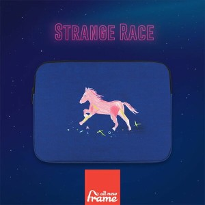 All New Frame Strange Race PCケース 13インチ macbook pro 13 ケース macbook 13インチ ケース macbook ケース macbook ポーチ...