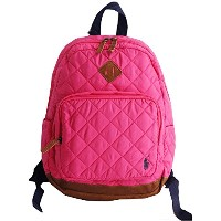 POLO RALH LAUREN ポロラルフローレン 子供用 リュック キルティング ピンク QUILTED BACKPACK キッズ バックパック