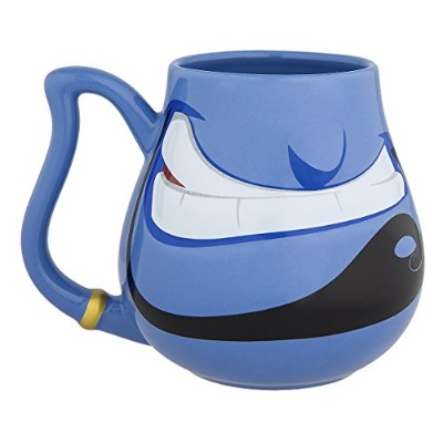 Disney ParksブルーGenieからAladdin面Ceramic Mug Cup