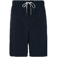 Dsquared2 logo printed swim shorts - ブルー