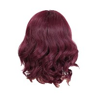 Zhhlinyuan 良質 Fashion Party Synthetic Wigs Elegant Women's Short Curly Wigs RM-C-009