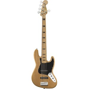 Squier by Fender Vintage Modified 70s Jazz Bass V [5-String] (NAT)