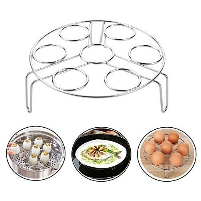 (5cm) - Windspeed Kitchen Cookware Cooking Steaming Rack Stand/Egg Cook Steamer, Stainless Steel ...