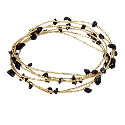 Colored Beaded Wire Bangles