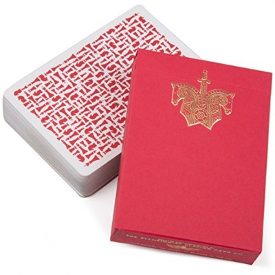 Red Knights Playing Cards Deck - By Daniel Madison and Chris Ramsay - For Ellusionist