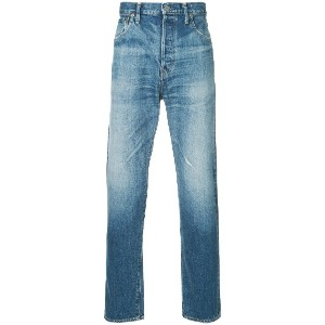 H Beauty & Youth stonewashed casual jeans - ブルー