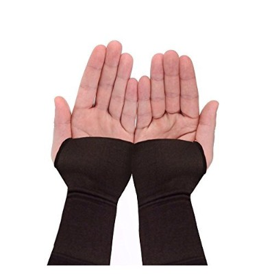 Wrist Brace Sleeve By Copper Compression Gear - RELIEF For Carpal Tunnel, RSI, Cubital Tunnel,...