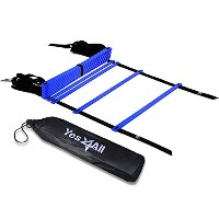 High Quality Speed Agility Ladder with Carry Bag ・ ・ Multi Choice: 8, 12, 20 Rung