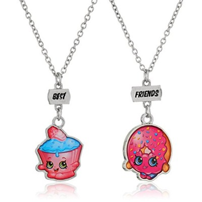 "Shopkins best-friendsピンクペンダントNecklace , 16 "" + 2.5 "" Extender"