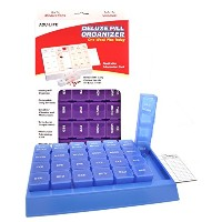 Acu-Life Deluxe Pill Organiser One Week Plus Today Large by Acu-Life