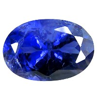 アイオライト ルーズジェームズ 2.32 ct PGTL 認定 AAA Grade Oval Cut (11 x 8 mm) Un-Heated Blue Iolite Loose Gemstone