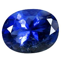 アイオライト ルーズジェームズ 1.70 ct PGTL 認定 AAA Grade Oval Cut (9 x 7 mm) Un-Heated Blue Iolite Loose Gemstone
