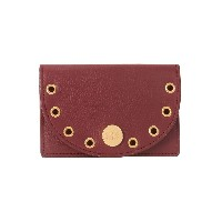 レディース SEE BY CHLOÉ kriss wallet with detachable coin purse 小銭入れ ボルドー