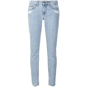Dondup distressed skinny jeans - ブルー