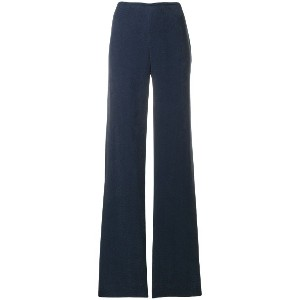 Giorgio Armani high-waist flared trousers - ブルー