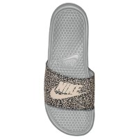 (取寄)ナイキ サンダル ベナッシ JDI スライド Nike Men's Benassi JDI Slide Wolf Grey Summit White Anthracite