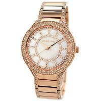 マイケルコース Michael Kors Kerry Mother of Pearl Dial Rose Gold-tone Ladies Watch MK3313 女性 レディース 腕時計 ...