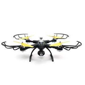RCクアッドコプター、折りたたみ式JJRC h39RCクアッドコプターWiFi HD FPVカメラ2.4GH 4CH 6-axis vs h37Drone by dacawin Da...
