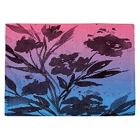 DIANOCHEキッチンPlaceマットby Julia Di Sano – Pocketful Posiesピンクブルー Set of 4 Placemats PM-JuliaDiSanoPocke...