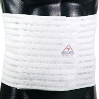 ITA-MED Men's Breathable Elastic Abdominal Binder, 9 Inches Wide by ITA-MED