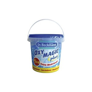Dr. Beckmann oxy magic plus powder 1 kg -White extra strength by Dr Beckmann
