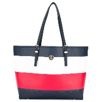 Tommy Hilfiger Stripe tote bag - ブルー
