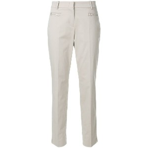 Cambio cropped trousers - ホワイト