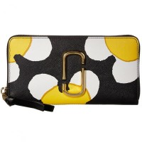 マークジェイコブス 長財布 M0013635 MARC JACOBS Snapshot Daisy Standard Continental Wallet (YELLOW MULTI)...