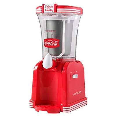Nostalgia Electrics RSM650COKE Coca-Cola Series Slush Maker 並行輸入