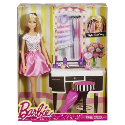 Barbie バービー doll 人形 with Hair Accessory