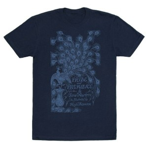 【Out of Print】 Jane Austen / Pride and Prejudice Tee (Midnight Navy)