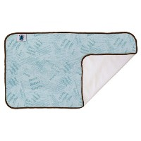Planet Wise Designer Changing Pad (Blue Recycle) by Planet Wise