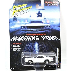 """JOHNNY LIGHTNING 1:64SCALE """"MUSCLE CARS U.S.A"""" """"VANISHING POINT - 1970 DODGE CHALLENGER R/T..."""