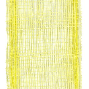 Offray Lions Web Mesh Craft Ribbon, 1-1/2-Inch Wide by 50-Yard Spool, Yellow (Discontinued by...