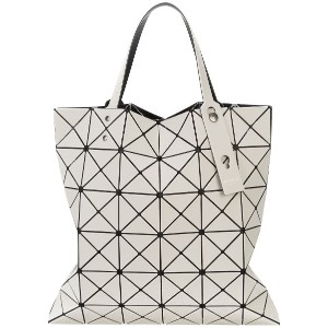 Issey Miyake adjustable strap triangle PVC bag - ブラウン