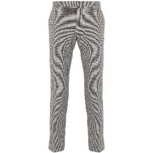 Entre Amis cropped tailored trousers - ブラック