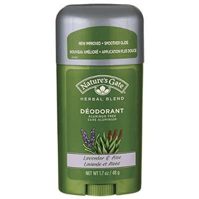 Nature's Gate, Deodorant, Herbal Blend, Lavender & Aloe, 1.7 oz (48 g)