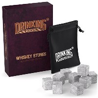 Whiskey Stones – Chills Your Drink Without Dilution – ソープストーンChilling Stones – Perfect for Whisky...
