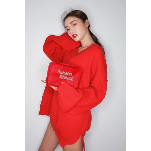 3CE  x POUCH #RED(3175211901001) 【三越・伊勢丹/公式】 ファッション小物~~その他