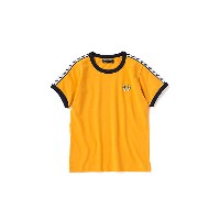FRED PERRY  リンガーTシャツ イエロー 【三越・伊勢丹/公式】 キッズファッション~~その他