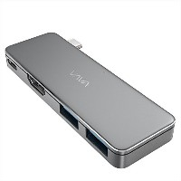 USB Cハブ、VAVA USB CアダプタwithタイプC 3.1 Power Delivery、HDMIポート& 2 x USB 3.0ポートfor MacBook Pro & C...