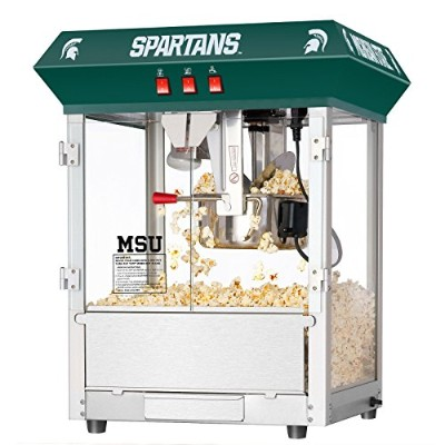 ( USA Warehouse )ミシガン州立大学MSU Spartans 8オンスGreat Northern Popcorn Machineテーブル – / PT # hf983 –...