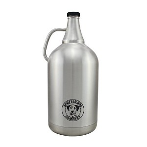 128ozステンレススチールInsulated Growler by Spotted犬会社