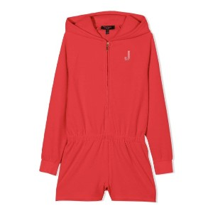 Juicy Couture Kids ベロアパーカー - レッド