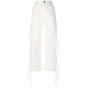 Damir Doma Pearl trousers - ホワイト