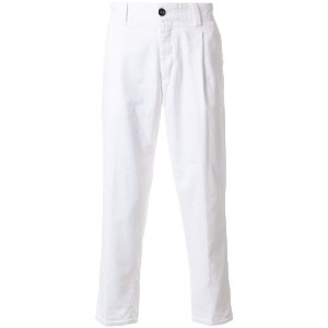 Pt01 cropped trousers - ホワイト
