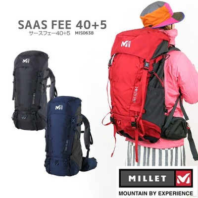 【NEW】ミレー リュック MILLET MIS0593-M SAAS FEE 40+5 サースフェー 40+5 バックパック 40+5L