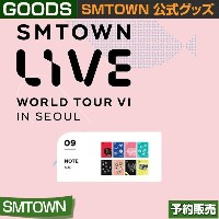 09. NOTE / SMTOWN LIVE WORLD TOUR VI IN SEOUL 公式グッズ/ 日本国内発送 / 1次予約/送料無料