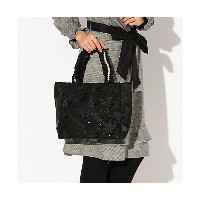 TO BE CHIC/TO BE CHIC  ヴォラン トートバッグ ~LACY~ ブラック 【三越・伊勢丹/公式】 バッグ~~トートバッグ~~レディース トートバッグ