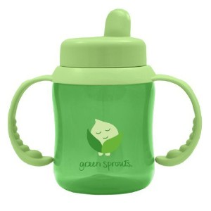 green sprouts Flip Top Sippy Cup, Green, 6 Ounce by green sprouts [並行輸入品]